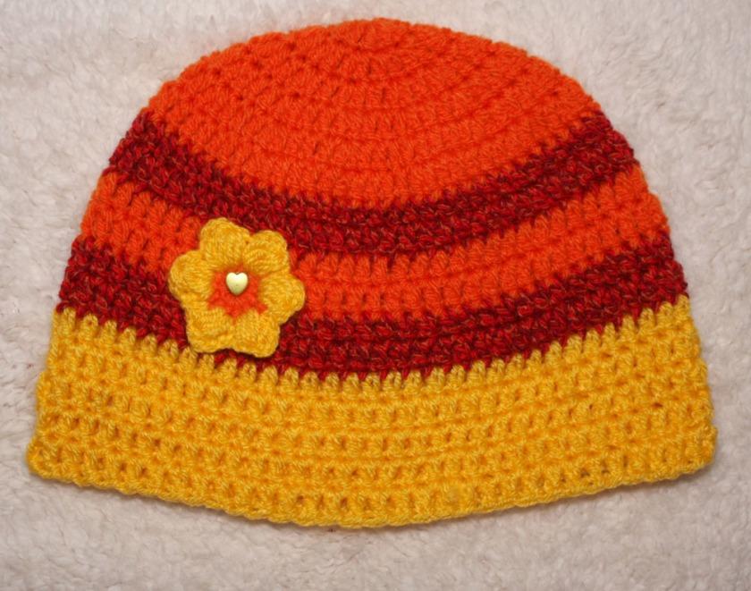 108985945ed Heegeldatud müts lillega. Hind MoeMaasikas 10€ VAATA
